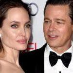 Angelina Jolie with Brad Pitt image.