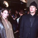 Brad pitt And Claire Forlani image.
