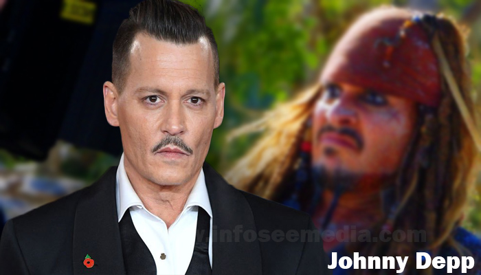 Johnny Depp height weight age