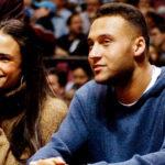 Jordana with his ex boyfriend Derek Jeter