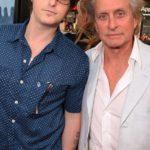 Michael douglas and Cameron Douglas image.