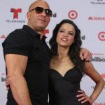 Michelle Rodriguez and her ex boyfriend Vin Diesel