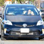 Michelle Rodriguez's Toyota Prius
