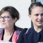 Natalie portman and her mother Shelley Herslag