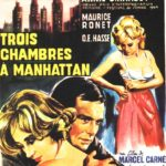 Three rooms in Manhattan (1965) movie poster image.