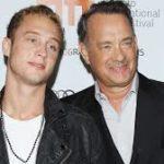 Tom Hanksa and Chet Hanks image.