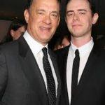Tom Hanksa and Colin Hanks image.