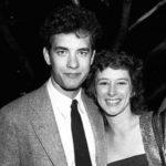 Tom Hanksa and Samantha Lewes image.