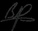 brad pitt signature image.
