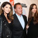Arnold Schwarzenegger And Christina Schwarzenegger image.