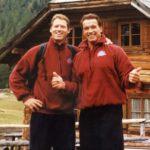 Arnold Schwarzenegger And Meinhard Schwarzenegger image.