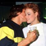 Arnold Schwarzenegger and Brigitte Nielsen image.