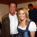 Arnold Schwarzenegger and Eleanor Mondale image.