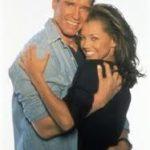 Arnold Schwarzenegger and Vanessa Williams image.