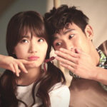 Bae Suzy and kim soo