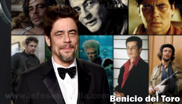 Benecio del Toro height weight age