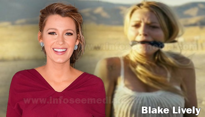 Blake Lively height weight age boyfriends