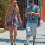Blake lively and Leonardo DiCaprio together