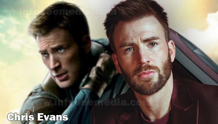 Chris Evans height weight age