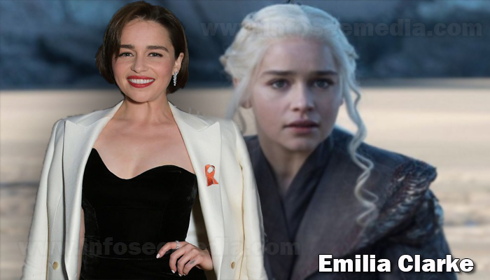 Emilia Clarke height weight age