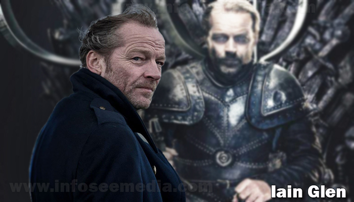 Iain Glen height weight age