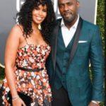 Idris Elba with Sabrina Dhowre
