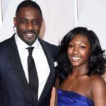 Idris Elba with his daughter Isan Elba