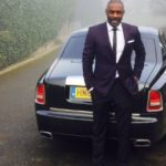 Idris Elba's Rolls Royce