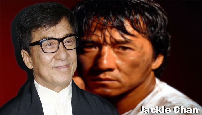 Jackie Chan height weight age