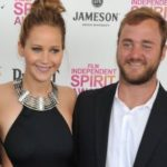 Jennifer Lawrence with her brother Blaine