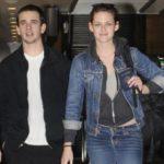 Kristen Stewart with her brother Taylor Stewrt