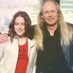 Kristen Stewart with her father John Stewart