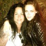Kristen Stewart with her mother Jules Mann Stewart