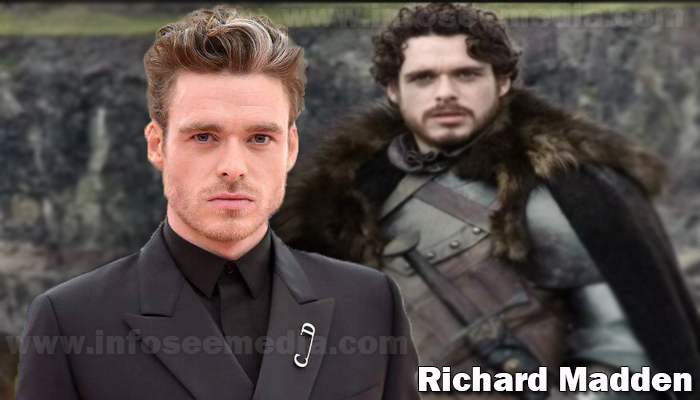 Richard Madden height weight age