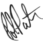 Robert Pattinson signature