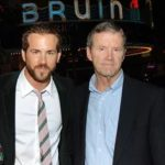 Ryan Reynolds with his Father Jim Reynolds