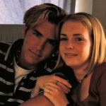 Ryan renolds with his ex girfriend Melissa Joan Hart