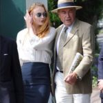 Sophie Turner with her father Andrew Turner