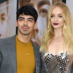 Sophie Turner with her husband Joe Jonas