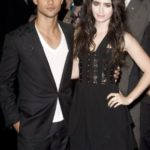 Taylor Lautner dated Lily Collins