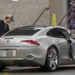Taylor Lautners car Fisker Karma