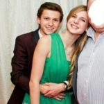 Tom Holland with his ex girlfriend Elle Lotherington