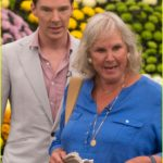 Wanda Ventham and Benedict cumberbatch image.