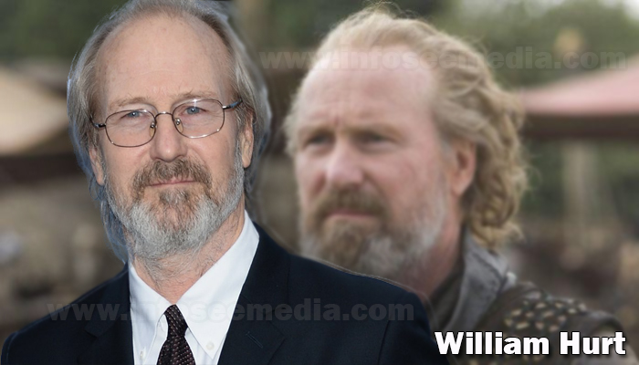 William Hurt height weight age