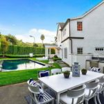 Zoe Saldana's house in Beverly Hills