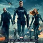 captain America the winter soldier (2014) movie poster image.