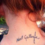 karen Gillans Tattoos image.