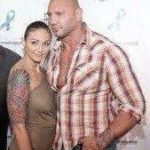 Angie Bautista and Dave bautista image.