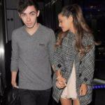Ariana Grande dated Nathan Sykes