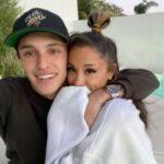Ariana Grande with boyfriend Dalton Gomez 2020